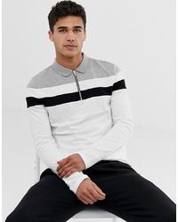 weißer Polo Pullover von ASOS DESIGN