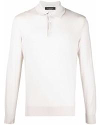 weißer Polo Pullover von Ermenegildo Zegna