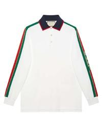 weißer Polo Pullover von Gucci