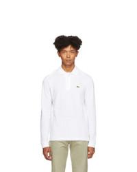 weißer Polo Pullover von Lacoste