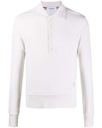 weißer Polo Pullover von Thom Browne