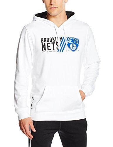 weißer Pullover mit einem Kapuze von adidas