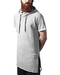 weißer Pullover mit einem Kapuze von Urban Classics