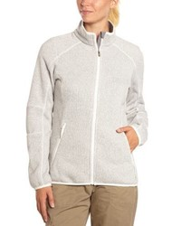 weißer Pullover mit einem Reißverschluß von Columbia