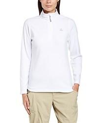 weißer Pullover mit einem Reißverschluß von Dare 2b