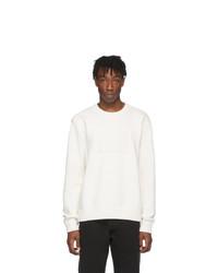 weißer Pullover mit einem Rundhalsausschnitt von Maison Margiela