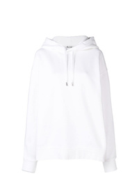 weißer Pullover mit einer Kapuze von Acne Studios
