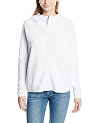 weißer Pullover mit einer Kapuze von Bench