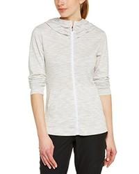 weißer Pullover mit einer Kapuze von Columbia