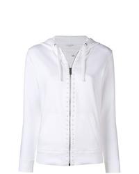 weißer Pullover mit einer Kapuze von Valentino