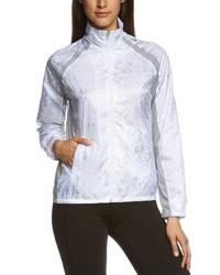 weißer Pullover mit einem Reißverschluß von adidas