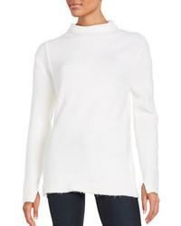 Weißer Pullover mit weitem Rollkragen von French Connection