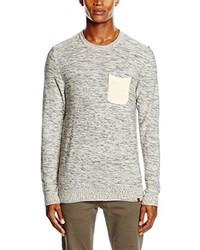 weißer Pullover von BLEND
