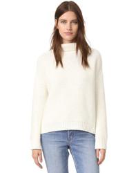 weißer Pullover von Vince