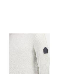 weißer Rollkragenpullover von LERROS