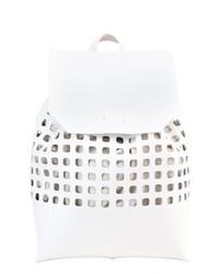 weißer Rucksack von KIOMI