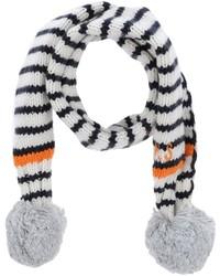 weißer Schal