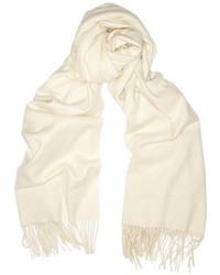 weißer Schal von Burberry