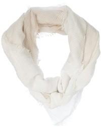 weißer Schal von Neil Barrett