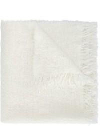 weißer Schal von Rick Owens
