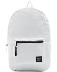 weißer Segeltuch Rucksack