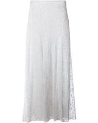 weißer Spitze Maxirock von Isabel Marant