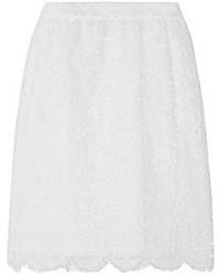 weißer Spitze Minirock von Dolce & Gabbana