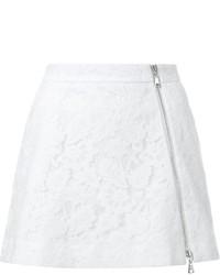 weißer Spitze Minirock von GUILD PRIME
