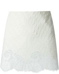 weißer Spitze Minirock von Vanessa Bruno