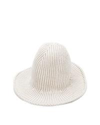 weißer Strick Fischerhut von AMI Alexandre Mattiussi