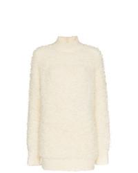 weißer Strick Oversize Pullover von Marni
