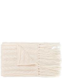 weißer Strick Schal von Twin-Set