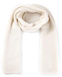 weißer Strick Schal von Vince