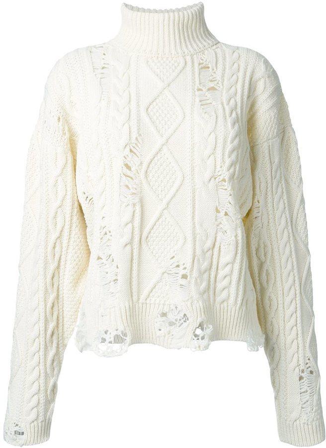 weißer Strickpullover von Miharayasuhiro   Wo zu kaufen und wie zu ... 7fb08aa373