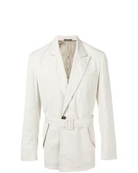 weißer Trenchcoat von Maison Margiela