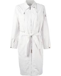 weißer Trenchcoat von Saint Laurent