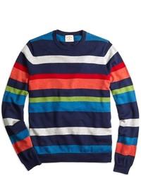 weißer und roter und dunkelblauer Pullover