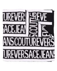 weißer und schwarzer bedruckter Schal von VERSACE JEANS COUTURE