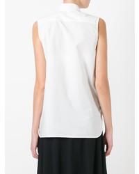 weißes ärmelloses Hemd von Marni