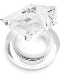 weißes Armband von Maison Margiela