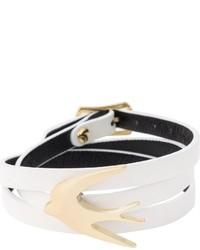 weißes Armband von McQ by Alexander McQueen