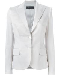 weißes Baumwollsakko von Dolce & Gabbana