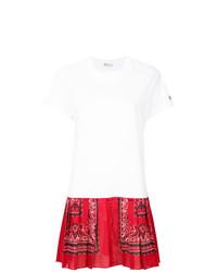 weißes bedrucktes Freizeitkleid von RED Valentino