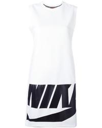 weißes bedrucktes Kleid von Nike