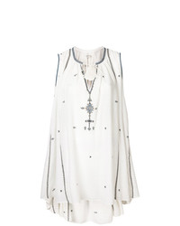weißes besticktes Folklore Kleid von Isabel Marant Etoile