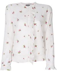 weißes besticktes Hemd von Isabel Marant
