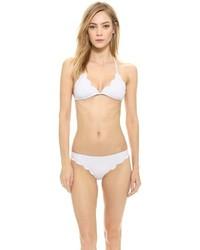 weißes Bikinioberteil von Marysia Swim