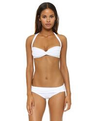 weißes Bikinioberteil von Norma Kamali
