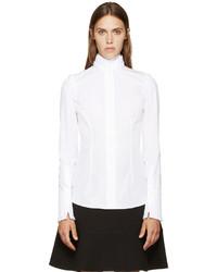 weißes Businesshemd von Alexander McQueen