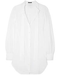 weißes Businesshemd von Ann Demeulemeester